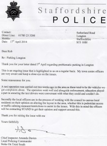 Police reply